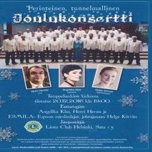 Joulukonsertti | Temppeliaukion kirkko
