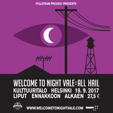 WELCOME TO NIGHT VALE: ALL HAIL, HELSINKI - Liput