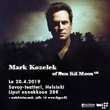 MARK KOZELEK OF SUN KIL MOON (US)