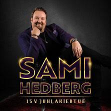 SAMI HEDBERG 15V. JUHLAKIERTUE K-15