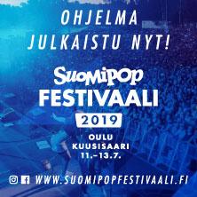 Suomipop Festivaali Oulu 2019 K 18 Kivaa Tekemista